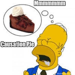 Causation Pie (Homer Simpson)