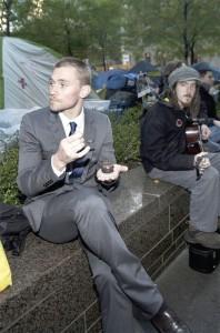 caviar at occupy wall street