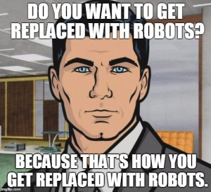 Archer - replaced with robots